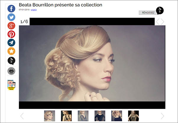 beata bourillon presente sa collection 2015 sur biblond com