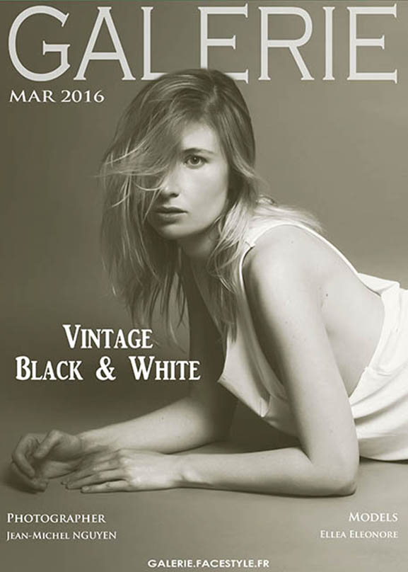 ellea eleonore vintage black and white